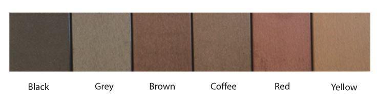 Mã màu phổ biến gỗ nhựa composite ecovina