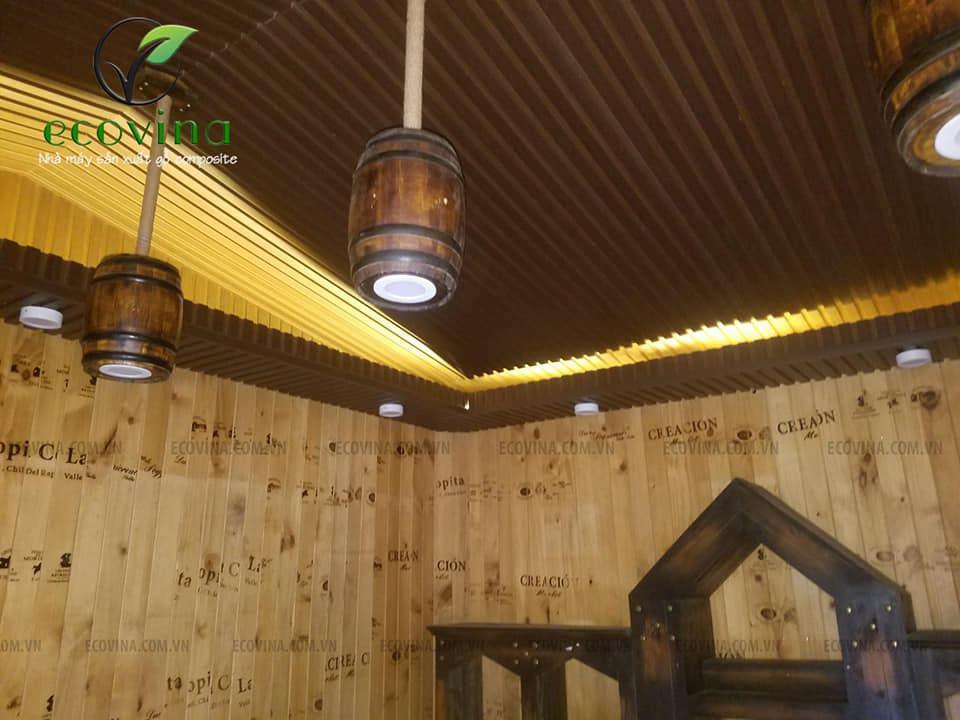 Ưu điểm và ứng dụng của gỗ nhựa composite:Vách ngăn nhựa composite, sàn gỗ nhựa..