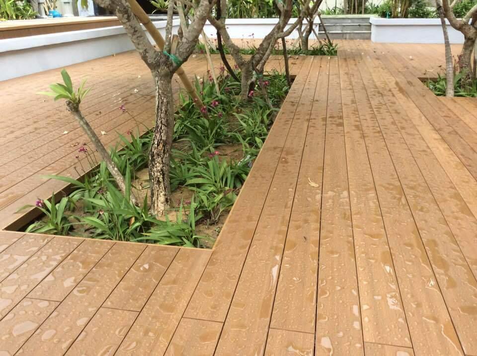 Sàn gỗ nhựa chống nước cực tốt