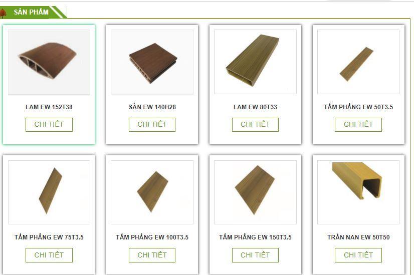 Báo giá tấm gỗ composite mới nhất 2019- 2020