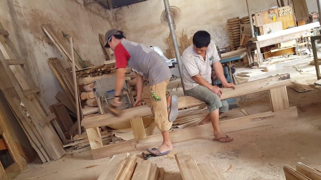Gia công cửa gỗ tự nhiên