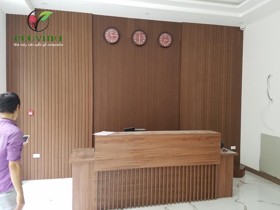 Hướng dẫn thi công lắp đặt tấm gỗ nhựa ốp tường composite trang trí