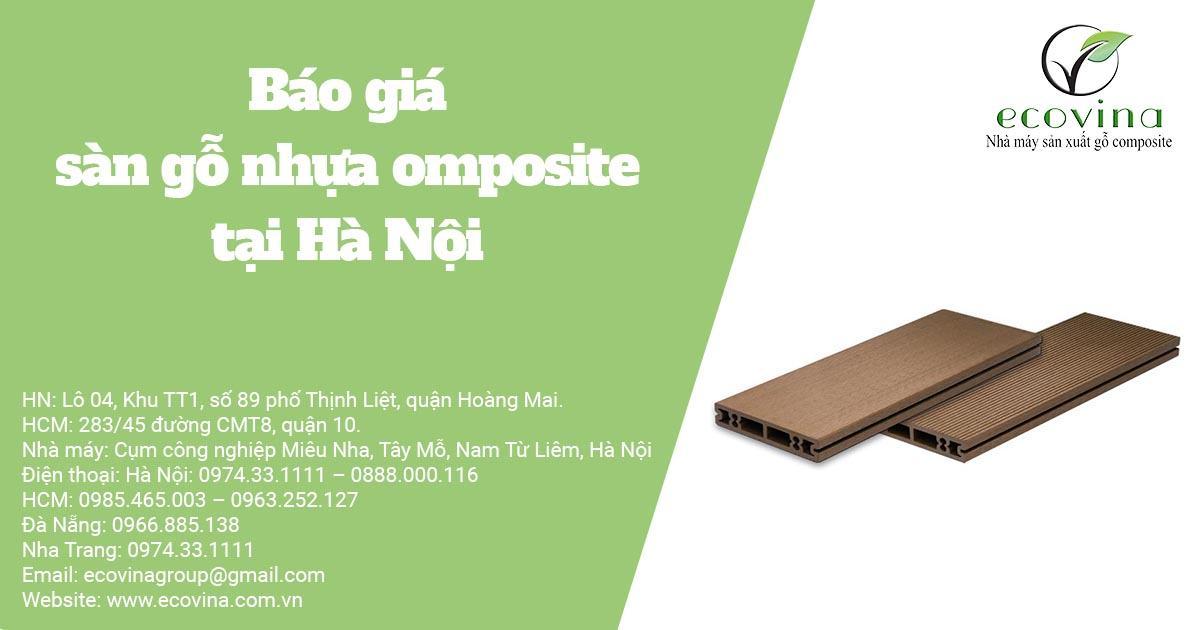 Báo giá sàn gỗ nhựa composite tại Hà Nội