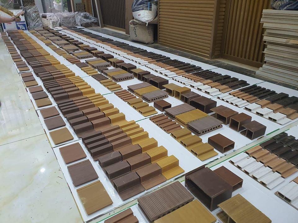 Tấm ốp tường gỗ nhựa composite Ecovina