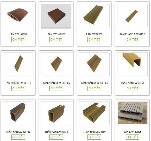 Báo giá gỗ nhựa composite Ecovina mới nhất 2020