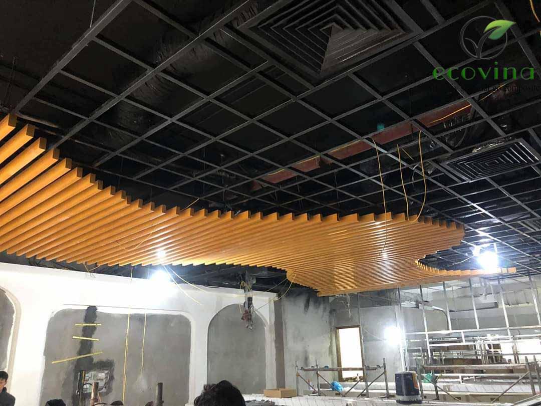 Công trình trần nan tại Hà Nội