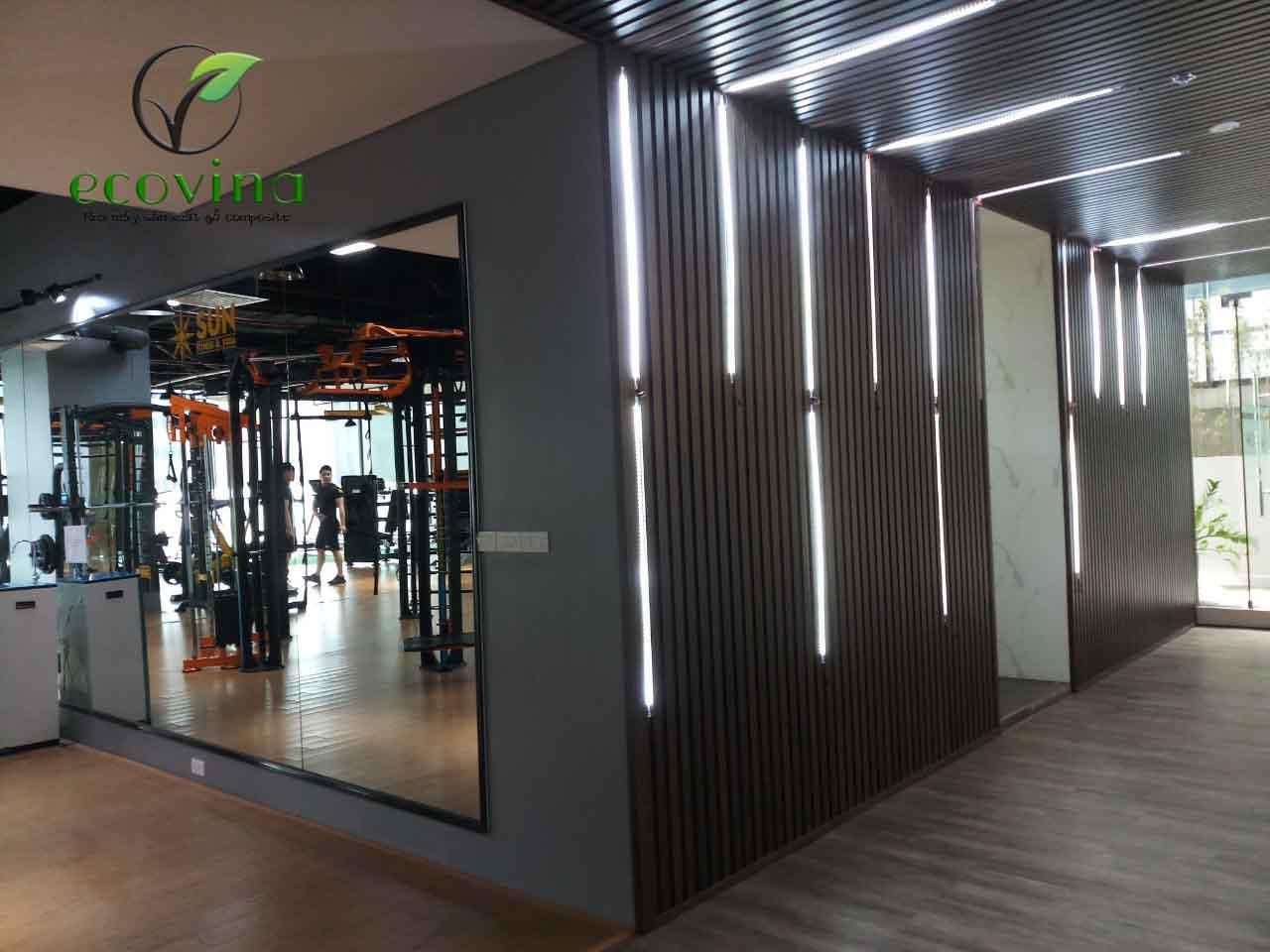 Vật liệu gỗ nhựa composite ốp tường - Giải pháp nào cho mùa hè 40 độ