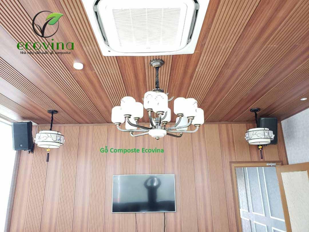 Tấp ốp tường gỗ nhựa composite biện pháp cách nhiệt mùa hè oi ả
