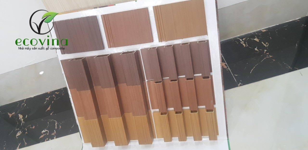 Công trình tấm ốp trần gỗ nhựa composite do Ecovina thi công và lắp đặt