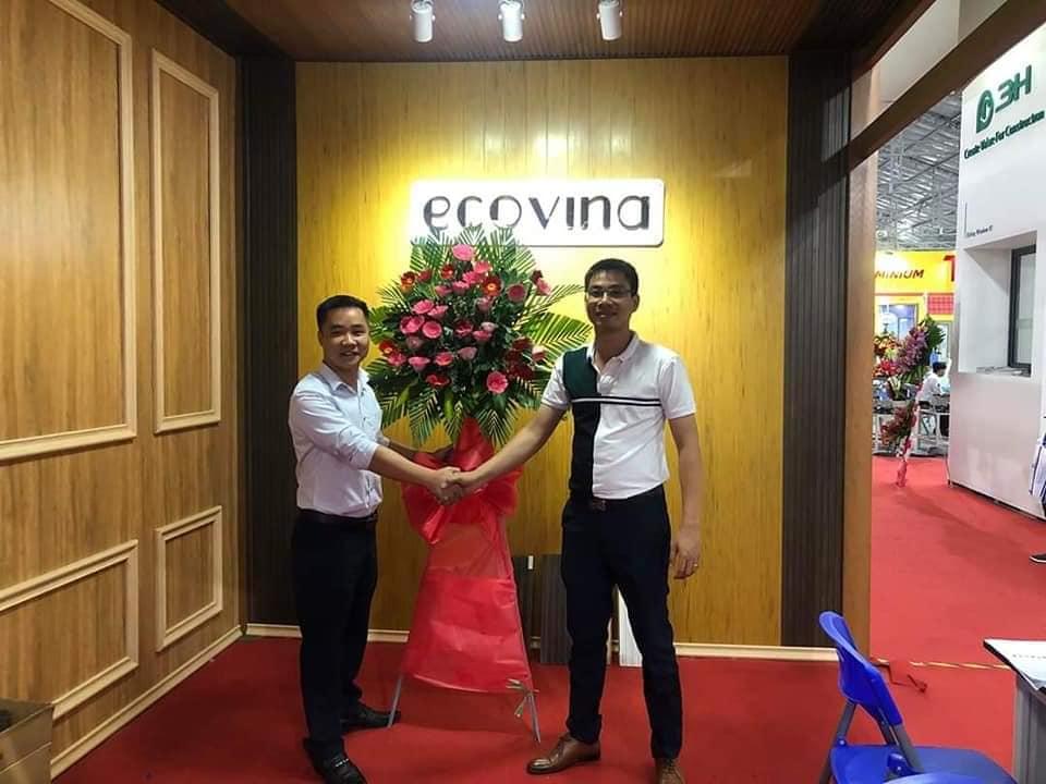 Nhà máy gỗ nhựa Ecovina tại triển lãm Vietbuild 2020