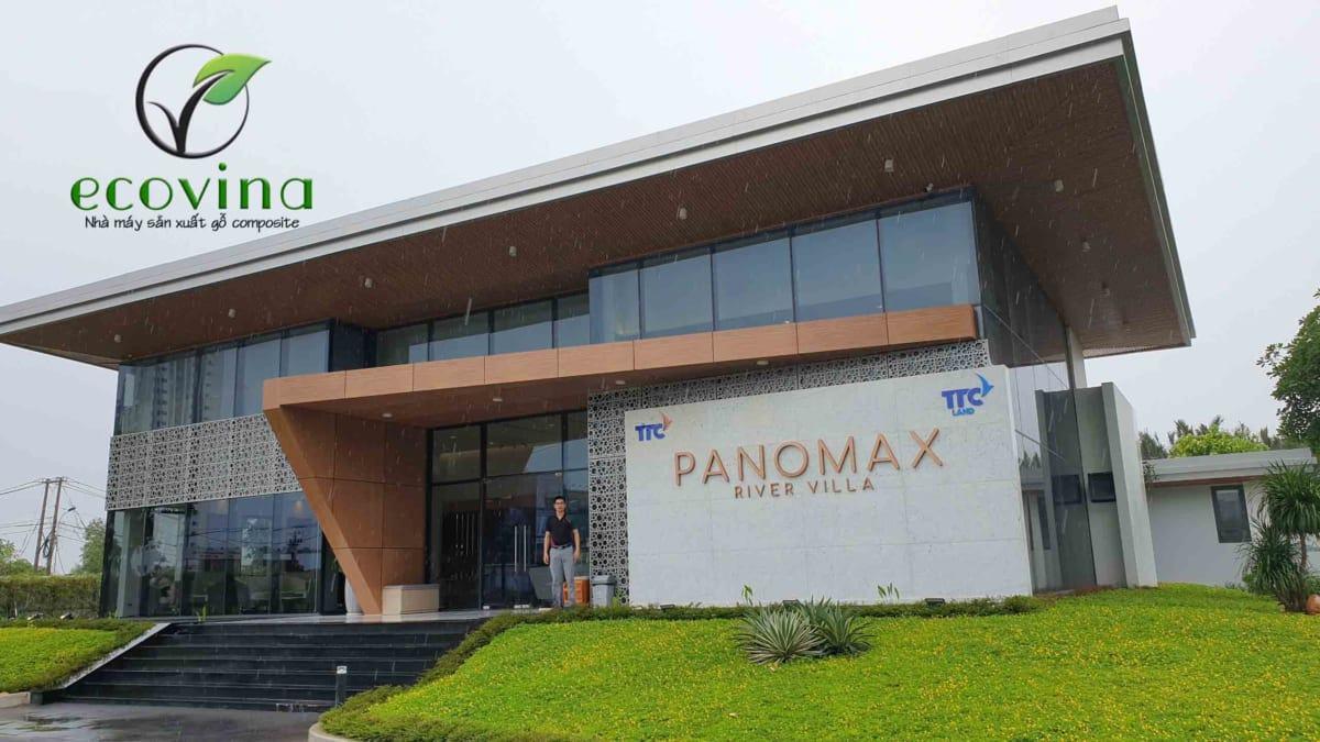 Dự án nhà mẫu Panomax tại Hồ Chí Minh do Ecovina trực tiếp thực hiện