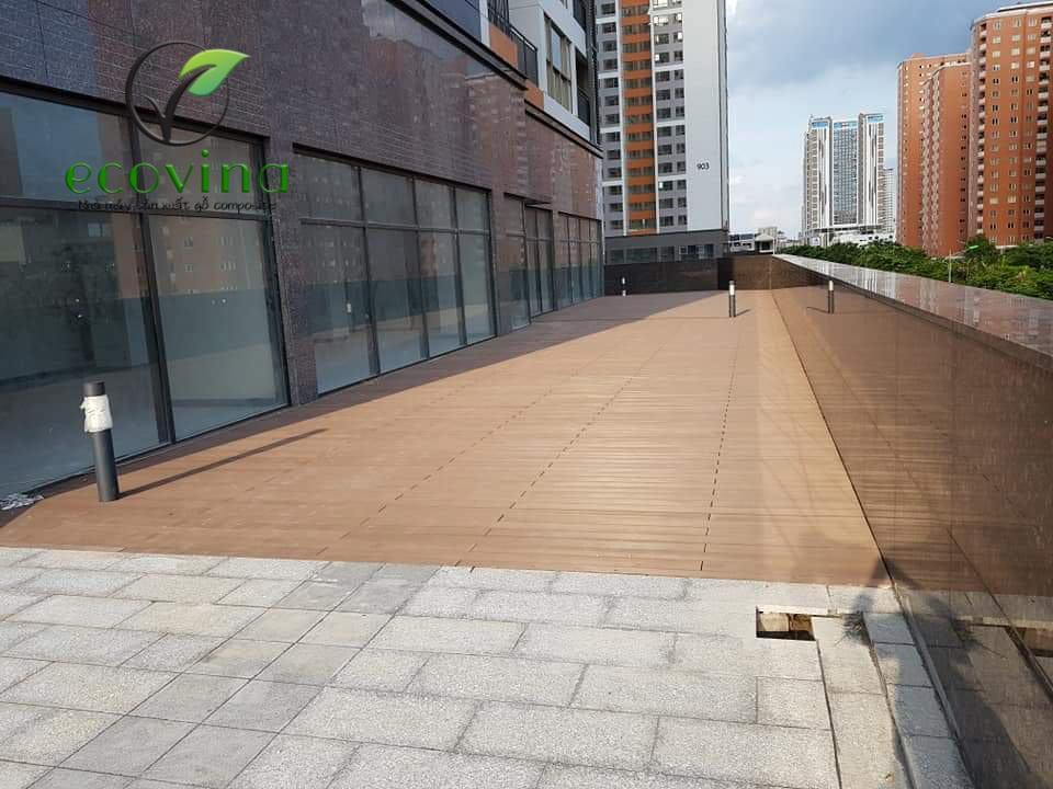 sàn gỗ nhựa ngoài trời hà nội