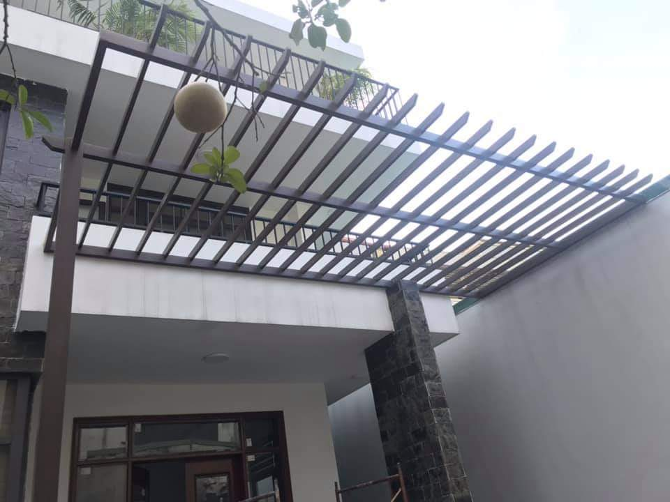 Lam chắn nắng biệt thự quận 7 Sài Gòn
