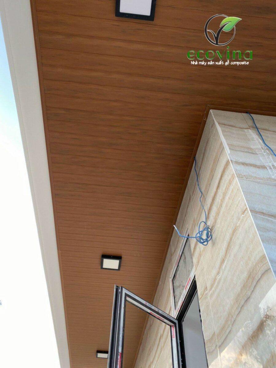 Đặc điểm của trần gỗ nhựa