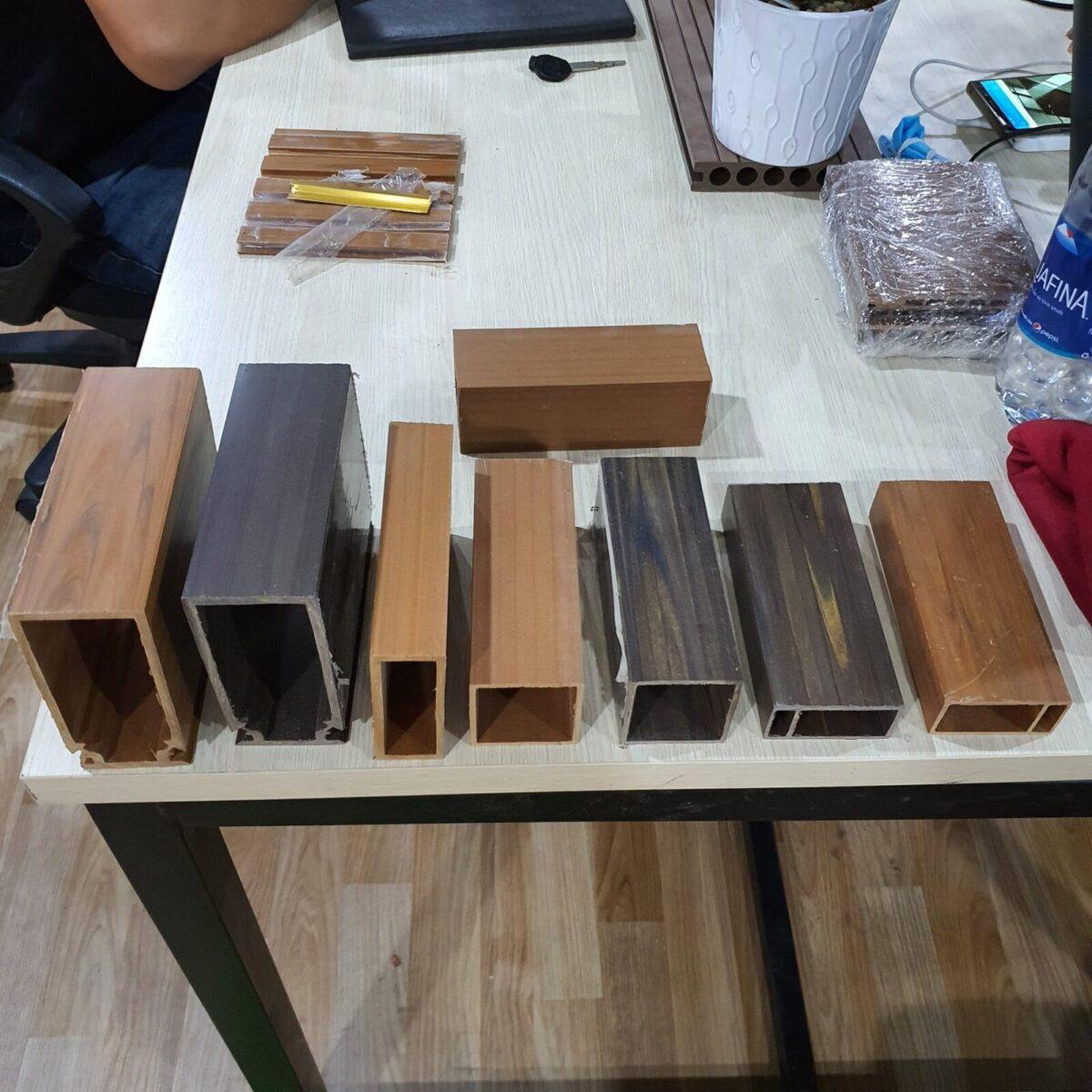 Các mẫu thanh lam gỗ nhựa và kích thước thanh lam Ecovina