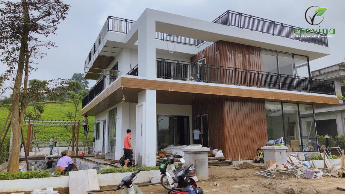Hình ảnh thi công tại Bắc Giang