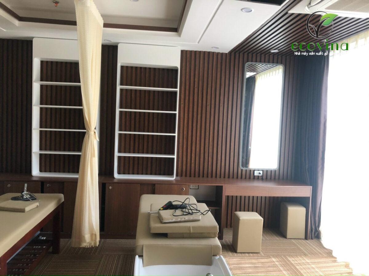tấm ốp tường gỗ nhựa giá rẻ, chất lượng tại Hà Nội
