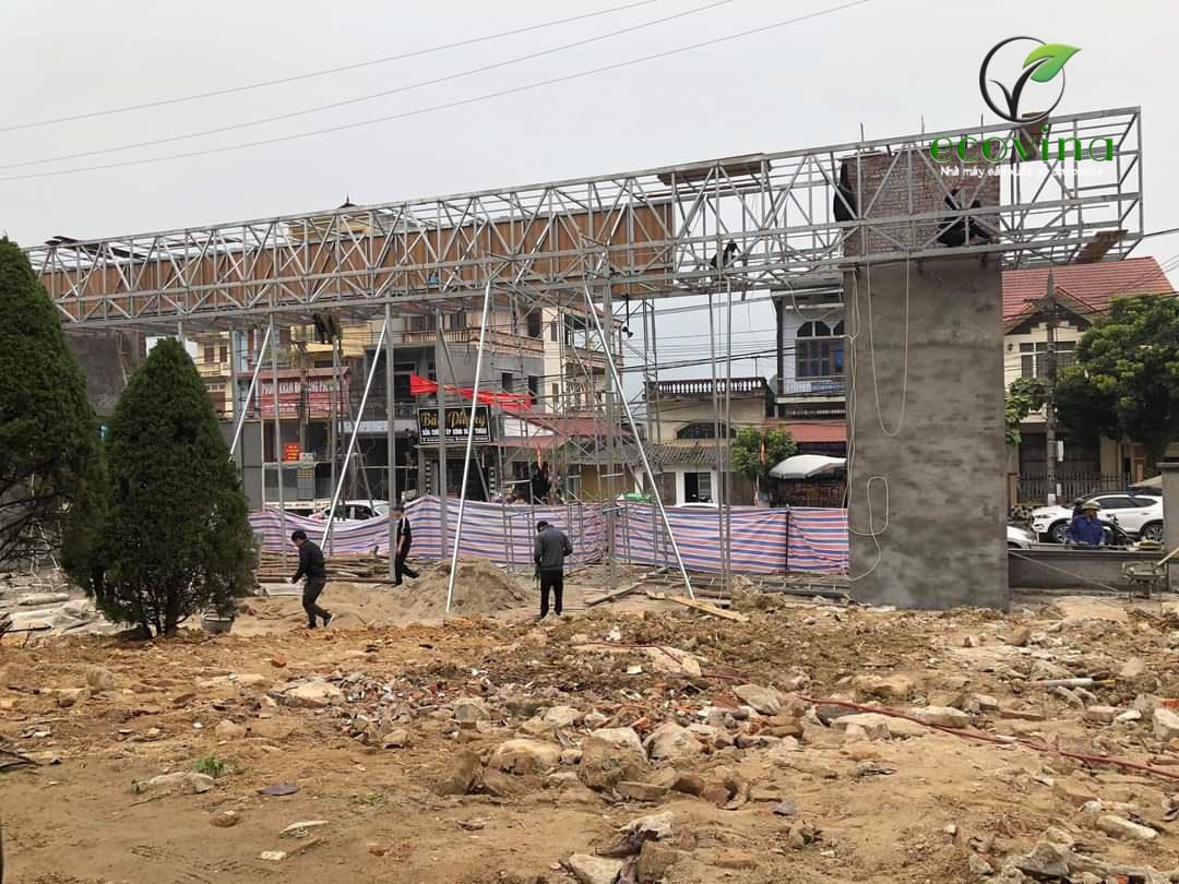 Bán và thi công tấm ốp gỗ nhựa Composite tại Bệnh viện- tỉnh Hà Giang