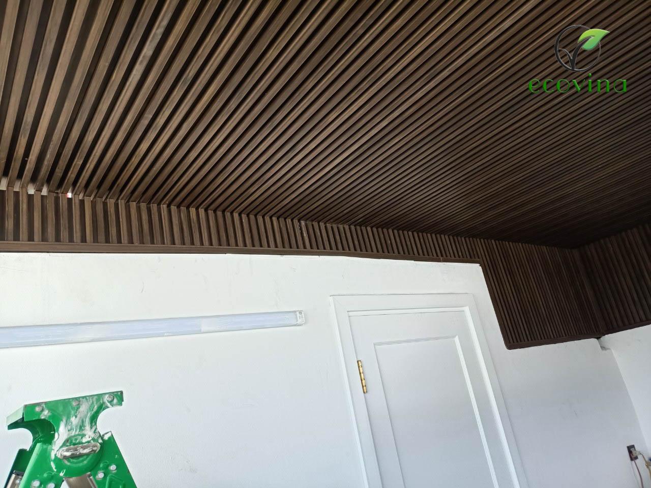 Báo giá lam nhựa giả gỗ, lam gỗ nhựa ốp tường